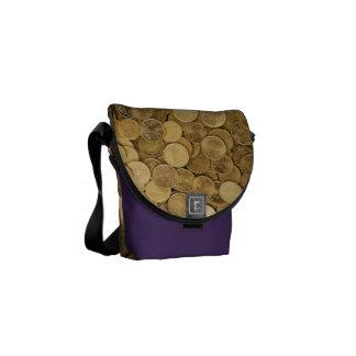 Euro Coins Courier Bag