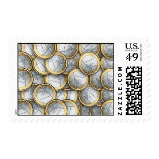 Euro Coins Stamps