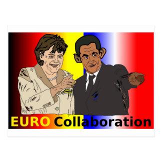 EURO Collaboration Postcard