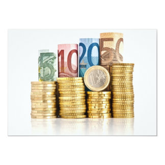 euro currency card