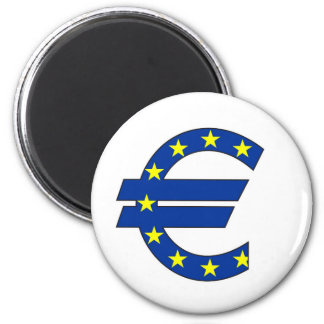 euro currency symbol money sign magnet