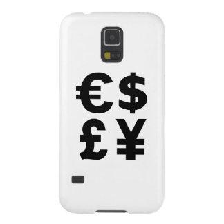 Euro Dollar Pound Yen Galaxy S5 Case