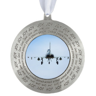 Euro Fighter heat Pewter Ornament