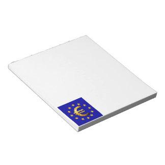 Euro Flag Notepad