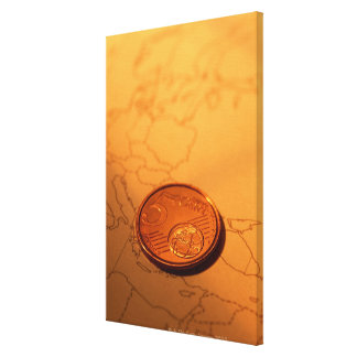 Euro Gallery Wrapped Canvas