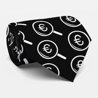 Euro Glasses Graphic Tie