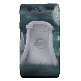 Euro grave concept motorola droid RAZR cover
