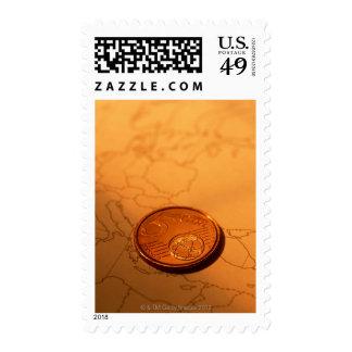 Euro Postage Stamp