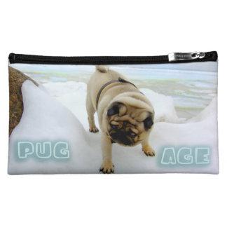 Euro Pug Ice Age Medium Cosmetic Bag