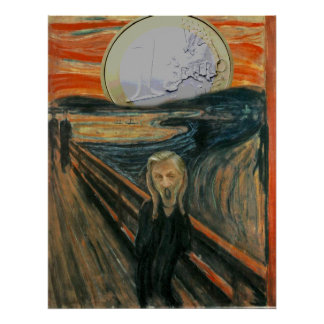 Euro Scream Posters