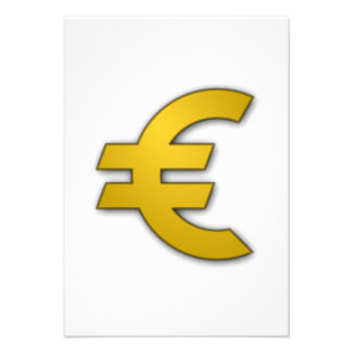 Euro Sign Announcements
