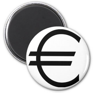 Euro Sign Magnet