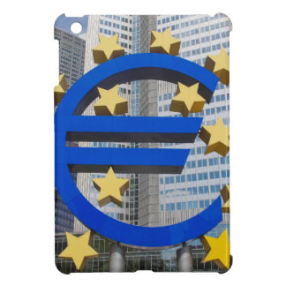 Euro symbol at European Central Bank iPad Mini Cases