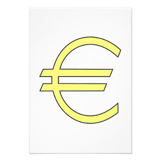 Euro Symbol Announcements