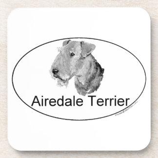 Euro-Tipo de Airedale Terrier Posavaso