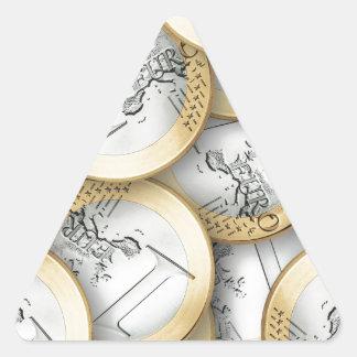 Euro Triangle Sticker