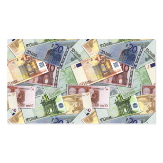 Euro Trip Double-Sided Standard Business Cards (Pack Of 100)
