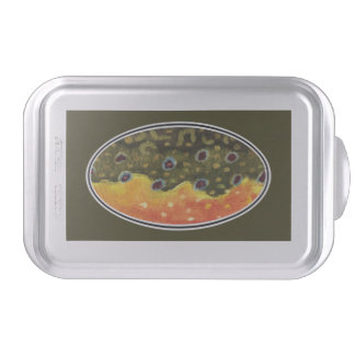 Euro Trout Design Cake Pan