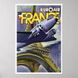 Euroair ~ France Poster