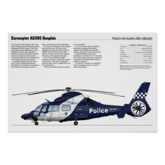 Eurocopter AS365 Dauphin Print