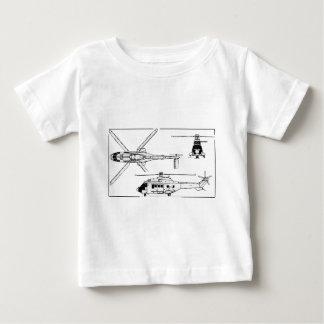 Eurocopter-Super-Puma-SA-33 Baby T-Shirt