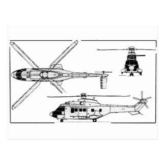 Eurocopter-Super-Puma-SA-33 Postal