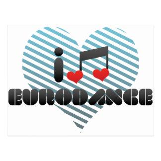 Eurodance Postcard