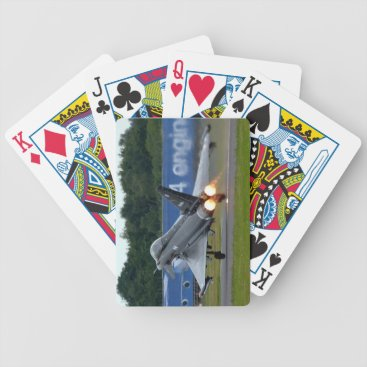 ZuluFlight eurofighter typhoon bicycle playing cards