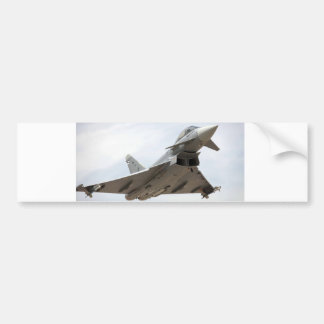 EUROFIGHTER TYPHOON CAR BUMPER STICKER