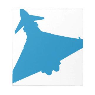 Eurofighter Typhoon Fighter Jet Notepads