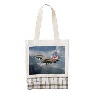 EuroFighter Typhoon Zazzle HEART Tote Bag
