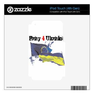 Euromaidan = Pray 4 Ukraine = Freedom iPod Touch 4G Skin
