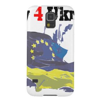 Euromaidan = ruega 4 Ucrania = libertad Funda De Galaxy S5