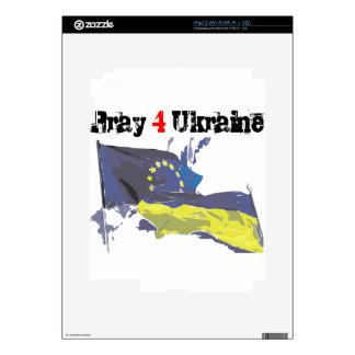 Euromaidan = ruega 4 Ucrania = libertad iPad 2 Skins