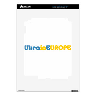 Euromaidan ruega para la libertad de Ucrania iPad 2 Skins