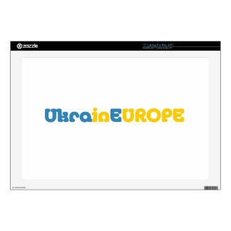 Euromaidan ruega para la libertad de Ucrania Skins Para 43,2cm Portátil