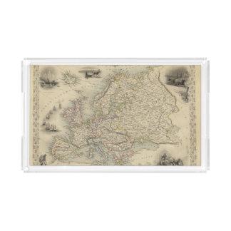 Europa 15 bandeja rectangular