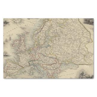 Europa 15 papel de seda pequeño