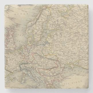 Europa 15 posavasos de piedra