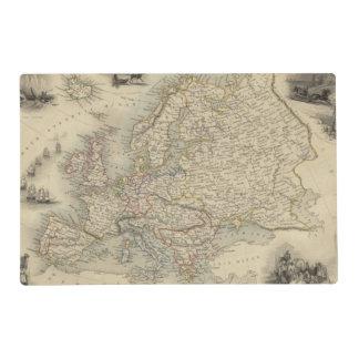 Europa 15 salvamanteles