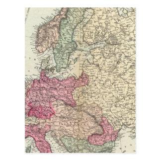 Europa 19 tarjetas postales
