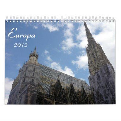 europa 2012 calendar