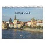 Europa 2012 calendario de pared