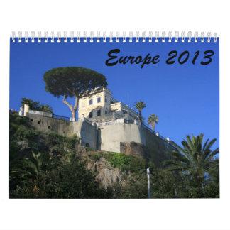 Europa 2013 calendarios