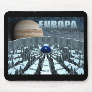 Europa 2048 mouse pad