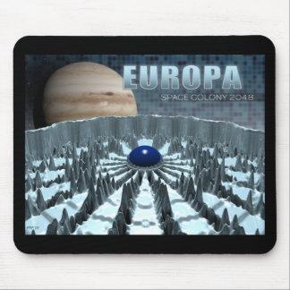 Europa 2048 mouse pad