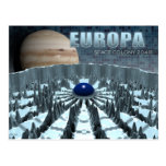 Europa 2048 post cards