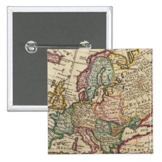 Europa 20 pin cuadrada 5 cm