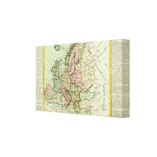 Europa 25 impresiones en lona estiradas