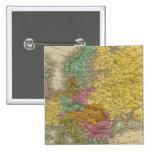 Europa 25 pin cuadrado